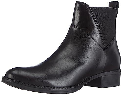Womens Donna Meldi Stivali Cold Lined Chelsea Boots Short Length Geox U54uU3wU