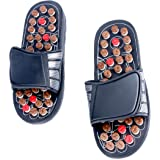 YaeKoo Foot Slippers Healthy Sandals Shoes Reflex Massage Slippers Acupuncture Shoe Foot Massager