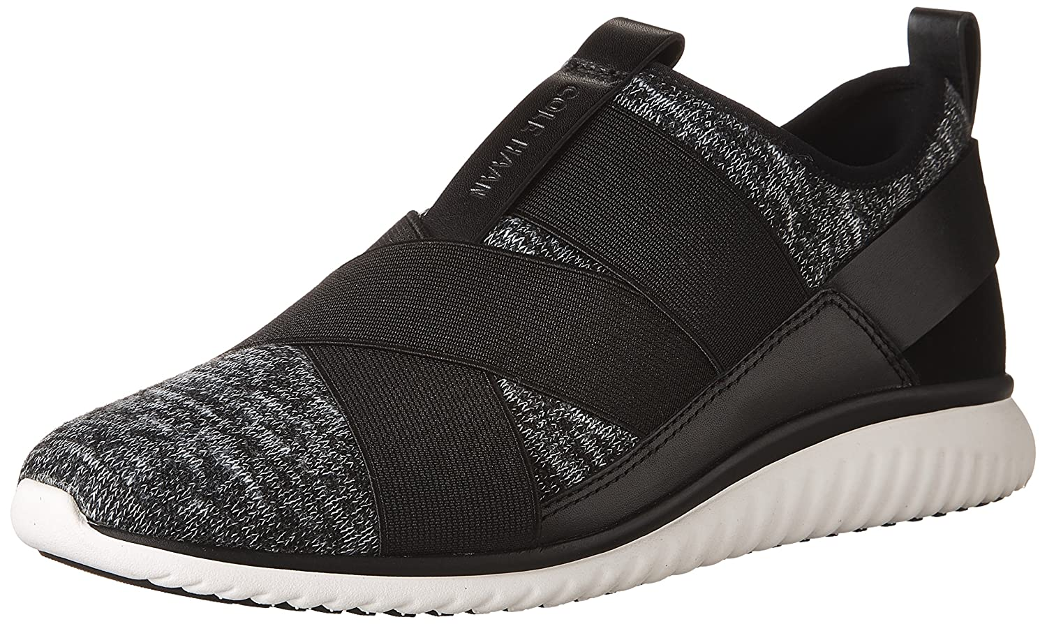 Cole Haan Studiogrand Knit Cross Strap Sneaker B06WW8YLB4 8.5 B(M) US|Black Knit