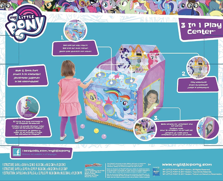 Playhut 3 en 1 Juego de My Little Pony Centro Play Tienda de ...