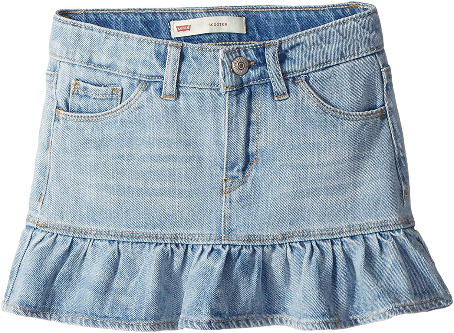 Levi's Kids Womens Alessandra Scooter Skirt (Little Kids) Levi's® Kids