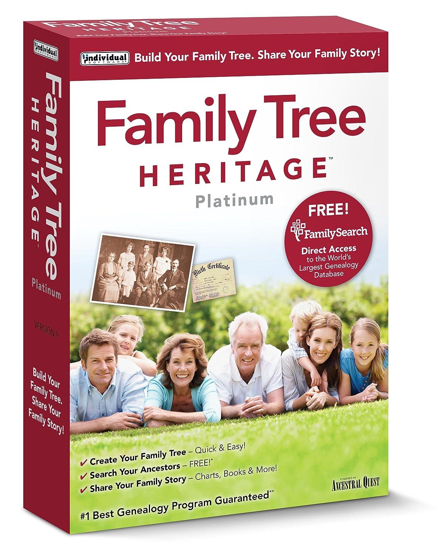 Amazon Individual Software Family Tree Heritage Platinum 9