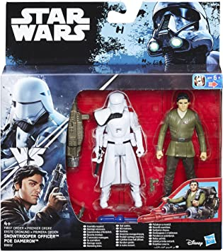 Star Wars The Force Awakens PoE Dameron y First Order Snowtrooper ...