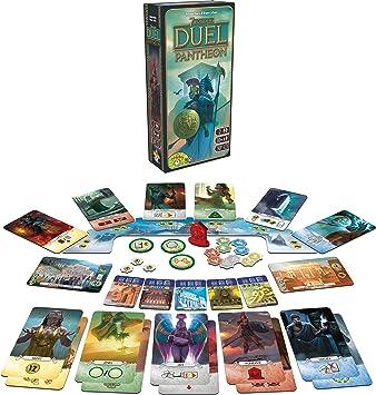 7 Wonders Duel – Ext. Pantheon: Amazon.es: Juguetes y juegos