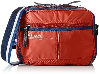 Bensimon Women's Pocket Bag Cross-Body Bag orange Orange (Dark orange)