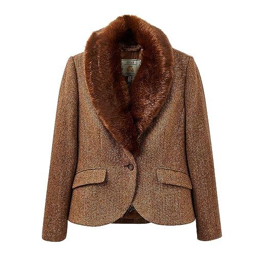 Joules Wilomena Tweed Womens Jacket (X)