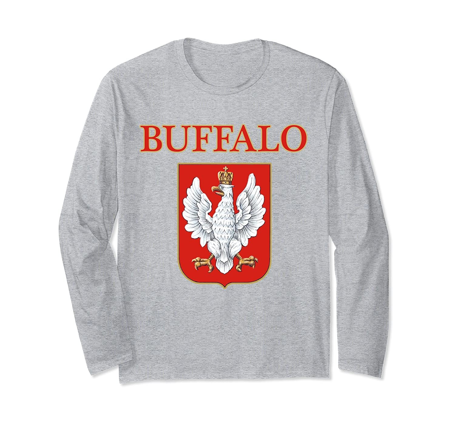 Buffalo New York Polish Dyngus Day Long Sleeve Shirt-TH