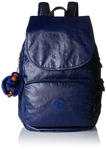 Amazon.com  Kipling Cayenne Small Backpack Lacquer Indigo  Shoes 4e42bb6103