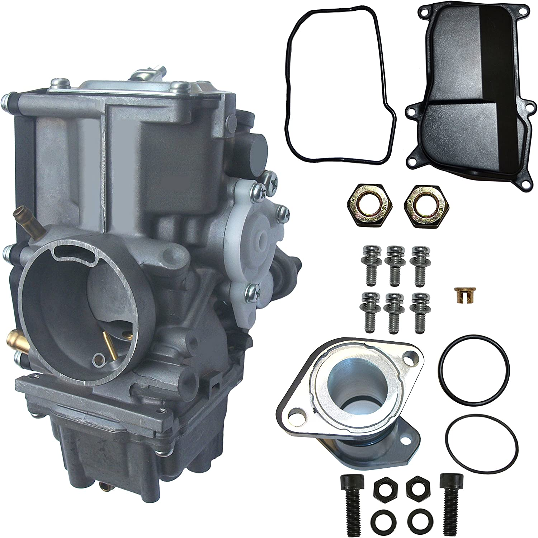 Carb Carburetor Intake Manifold Yamaha Big Bear 350 1991 1992 1993 1994