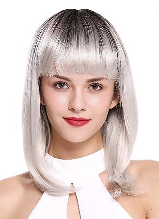 Wig Me Up Dy46a 60ys1b Damenperücke Perücke Longbob Kurz