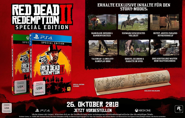 Red Dead Redemption 2 Special Edition - Xbox One [Importación ...
