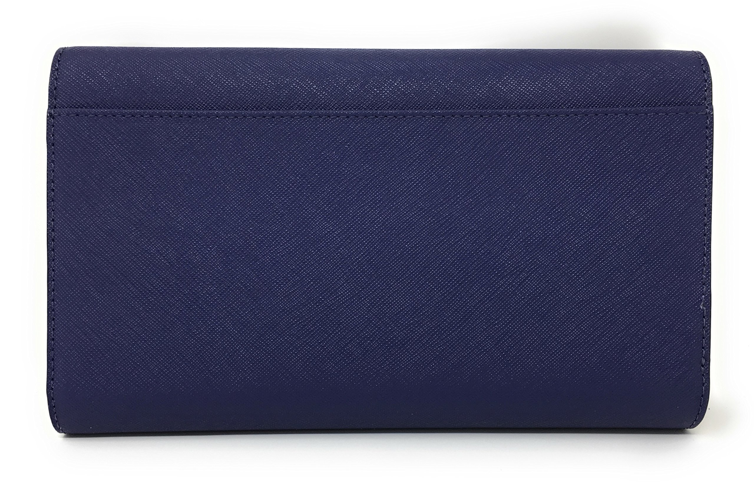 Kate Spade New York Mikas Pond Phoenix Trifold Leather Wallet (Sapphire) by Kate Spade New York (Image #4)