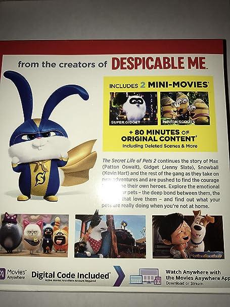 Amazon.com: Wm-Secret Life of Pets 2 [Blu-ray]: Movies & TV