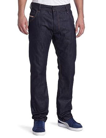 b52705ca Amazon.com: Diesel Men's Krooley Regular Slim Carrot Leg Jean 008QM ...