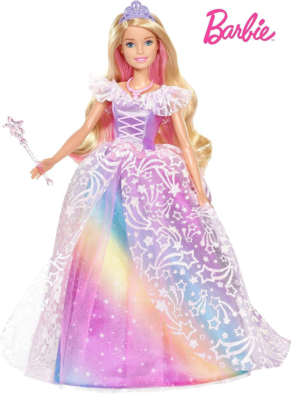Barbie- Dreamtopia Superprincesa, Multicolor (Mattel GFR45)