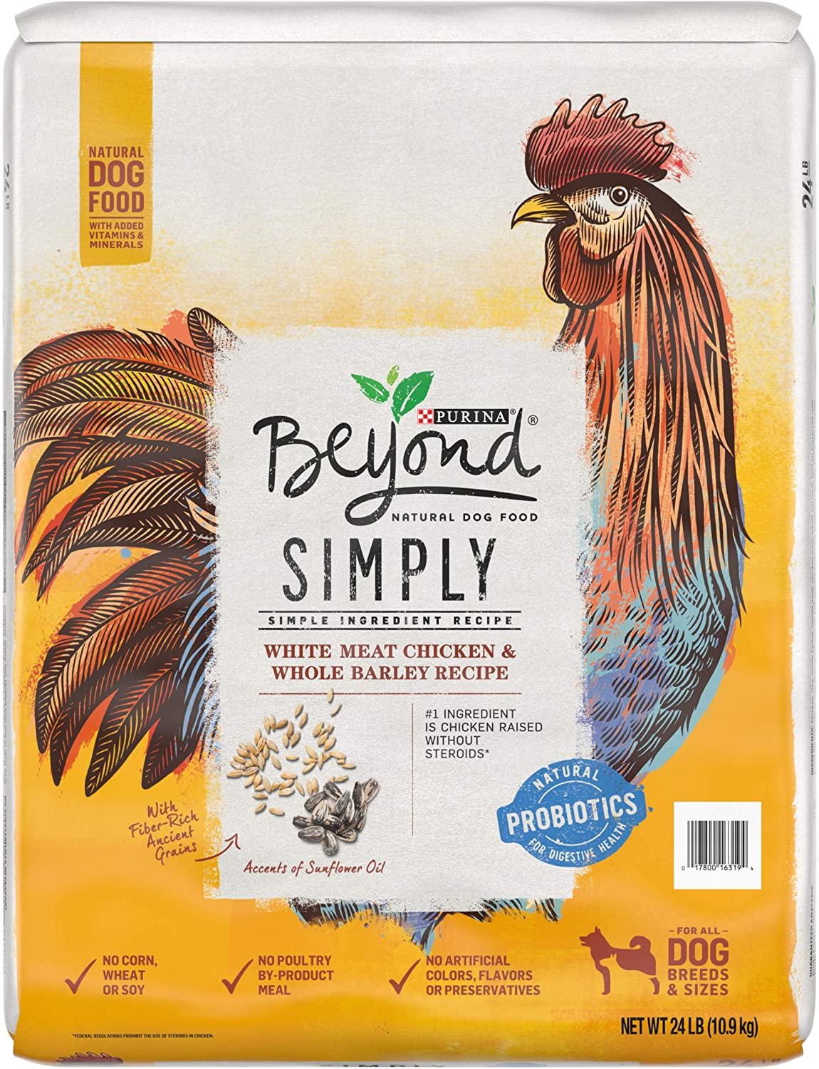 Purina Beyond Simply, Natural Adult Dry Dog Food & Puppy Food