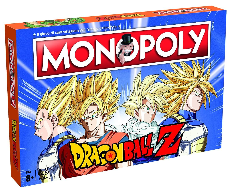 Winning Moves Juego de tavolo-Monopoly Dragon Ball-ita ...