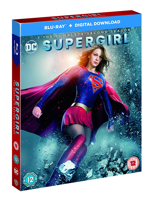 Supergirl S2 Edizione: Regno Unito Reino Unido Blu-ray ...