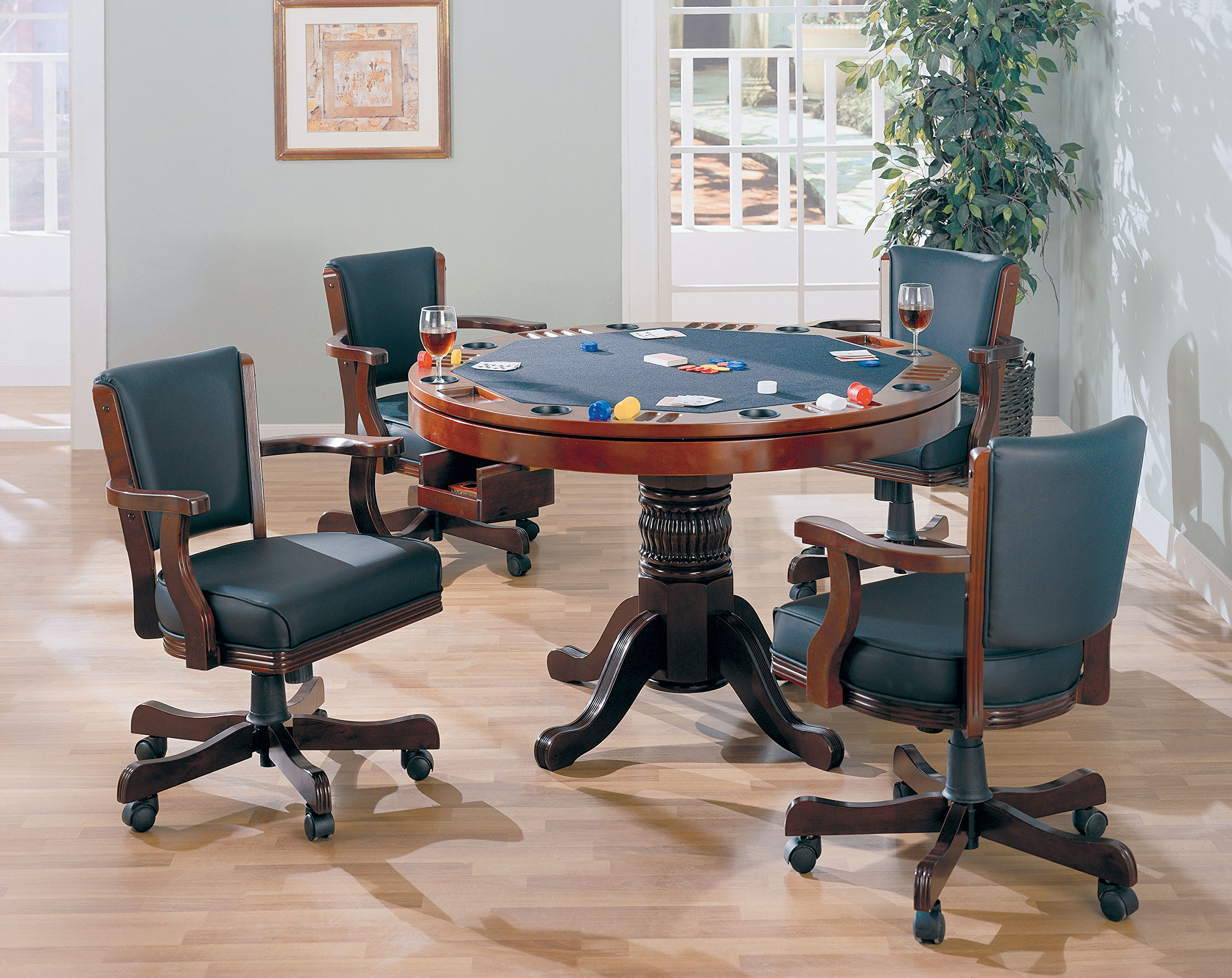 Coaster Game Table Top-Oak