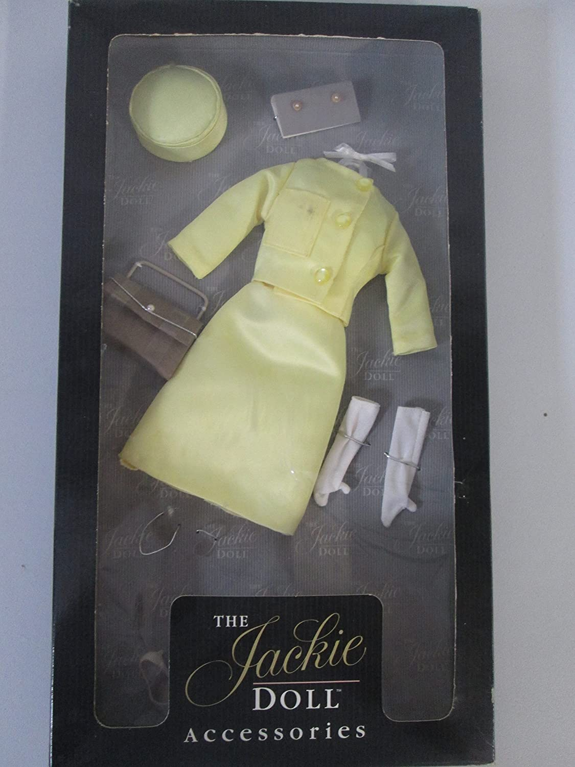 Franklin Mint The Jackie Doll Accessories French State Visit Yellow Suit