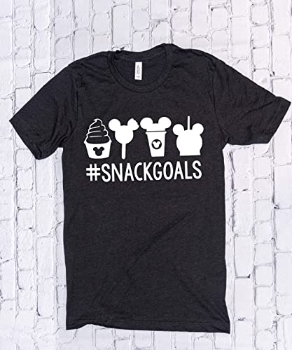 Amazon Snackgoals Disney Shirts For Women Minnie Mouse Disneyland Trip Birthday Outfits Cute T Novelty Gift Handmade