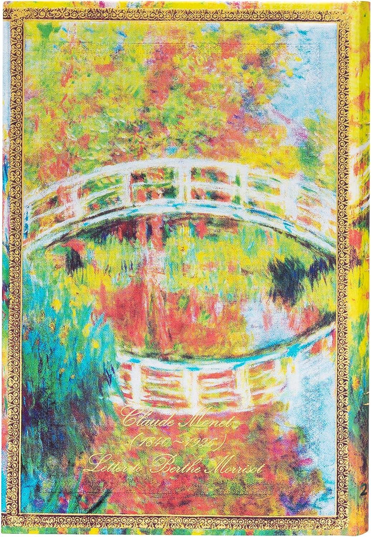 Agendas 12 Mois 2021 Monet Le Pont Lettre /à Morisot Horizontal 100 /× 140 mm DF6925-6 Paperblanks Mini
