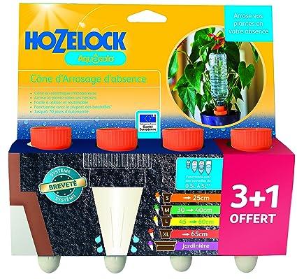 Hozelock Aquasolo ORANGE Holiday Self Watering Ceramic Cones 1 Piece or 4 Pieces