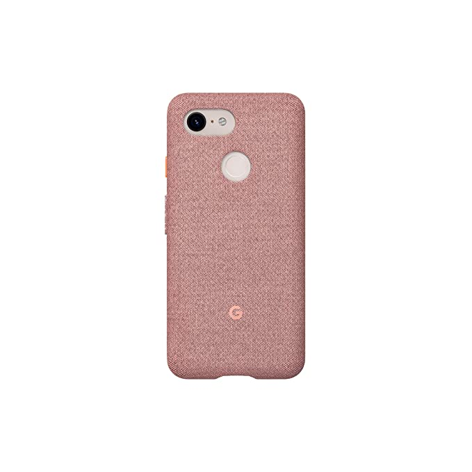 buy online 3f821 642cc Google Fabric Case Cell Phone Case for Pixel 3 - Pink Moon Fabric