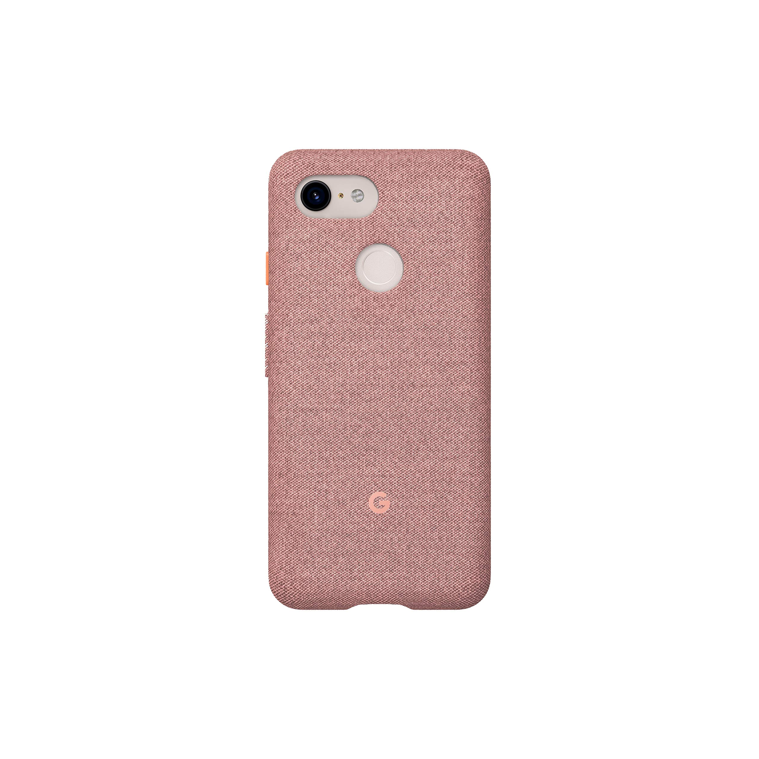 Google Fabric Case Cell Phone Case for Pixel 3XL - Pink Moon Fabric