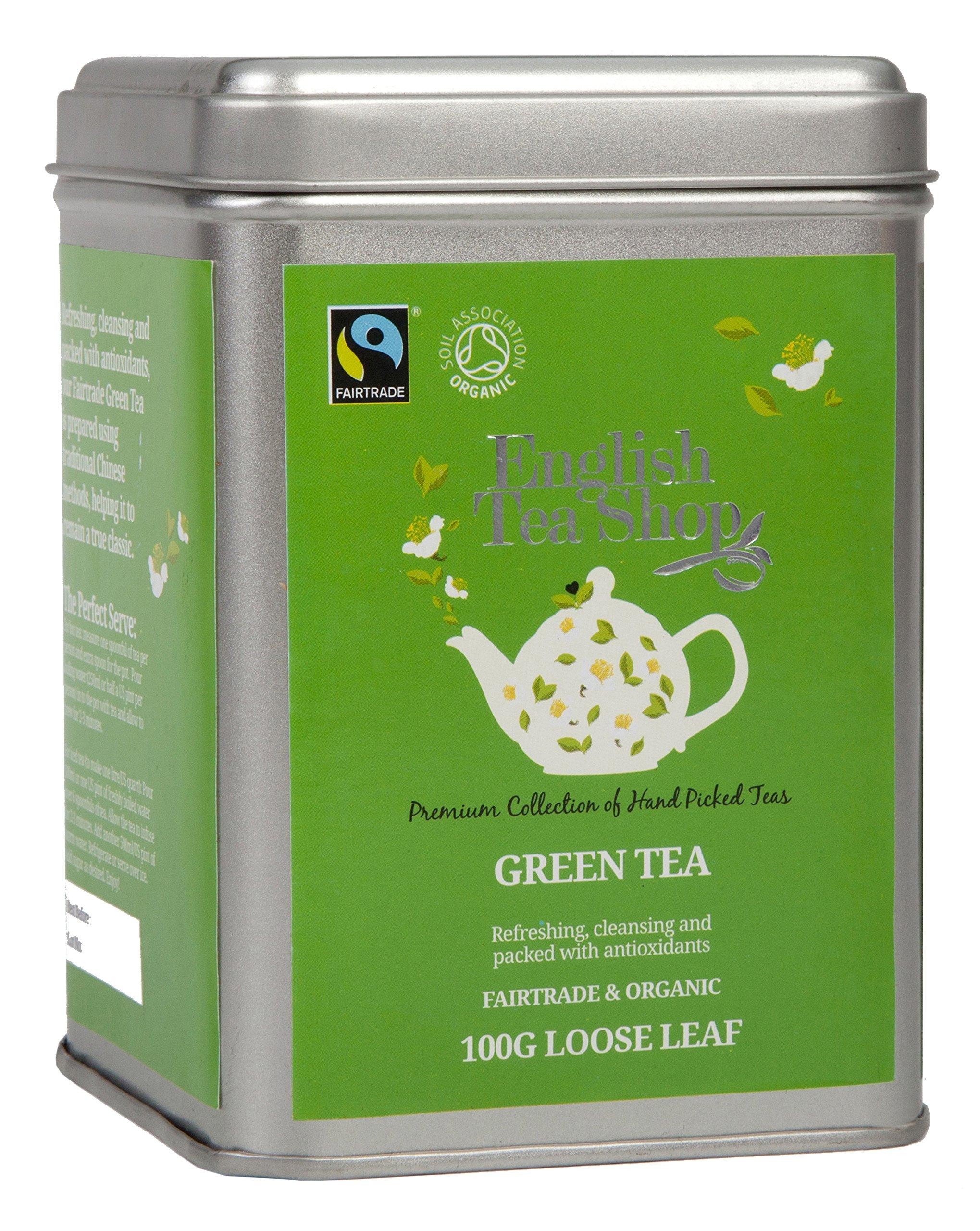 English Tea Shop Organic Fairtrade Green Tea, 100g