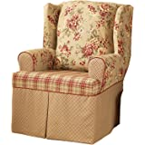 Sure Fit Lexington - Wing Chair Slipcover  - Multi (SF29848)