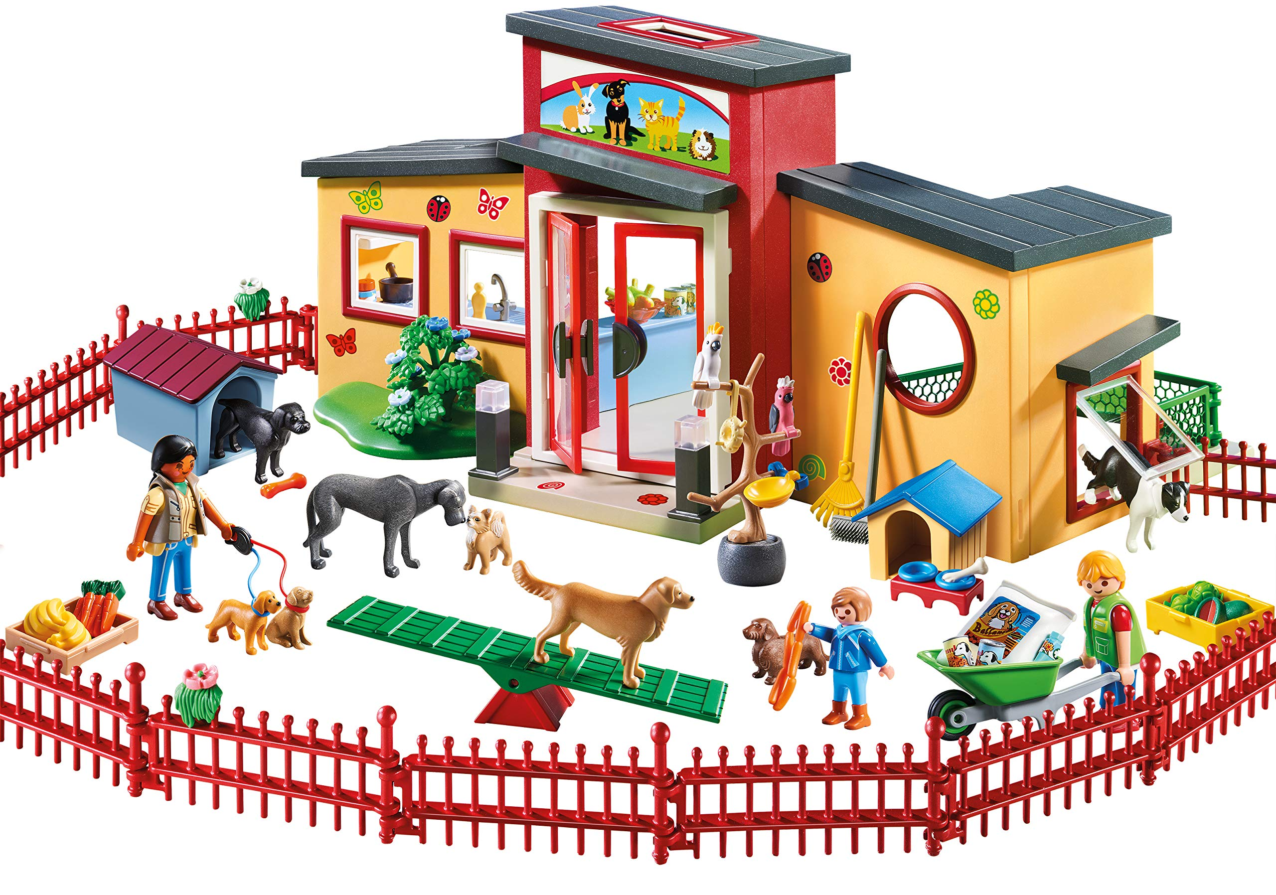 PLAYMOBIL® Tiny Paws Pet Hotel Multicolor by PLAYMOBIL® (Image #2)
