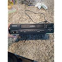 Emerson EWV401B Video Cassette Recorder Player VCR Da-4Head