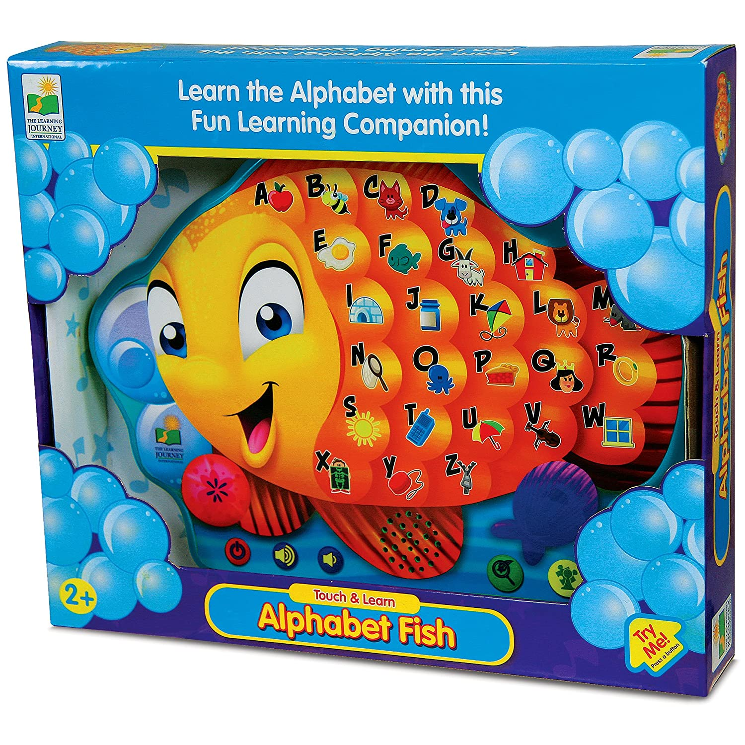 Amazon.com: The Learning Journey Touch & Learn, Alphabet Fish: Toys ...