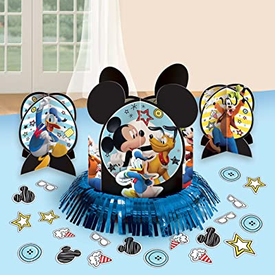 amscan Mickey Mouse Party Supplies On The Go Table Decorating Kit: Toys & Games
