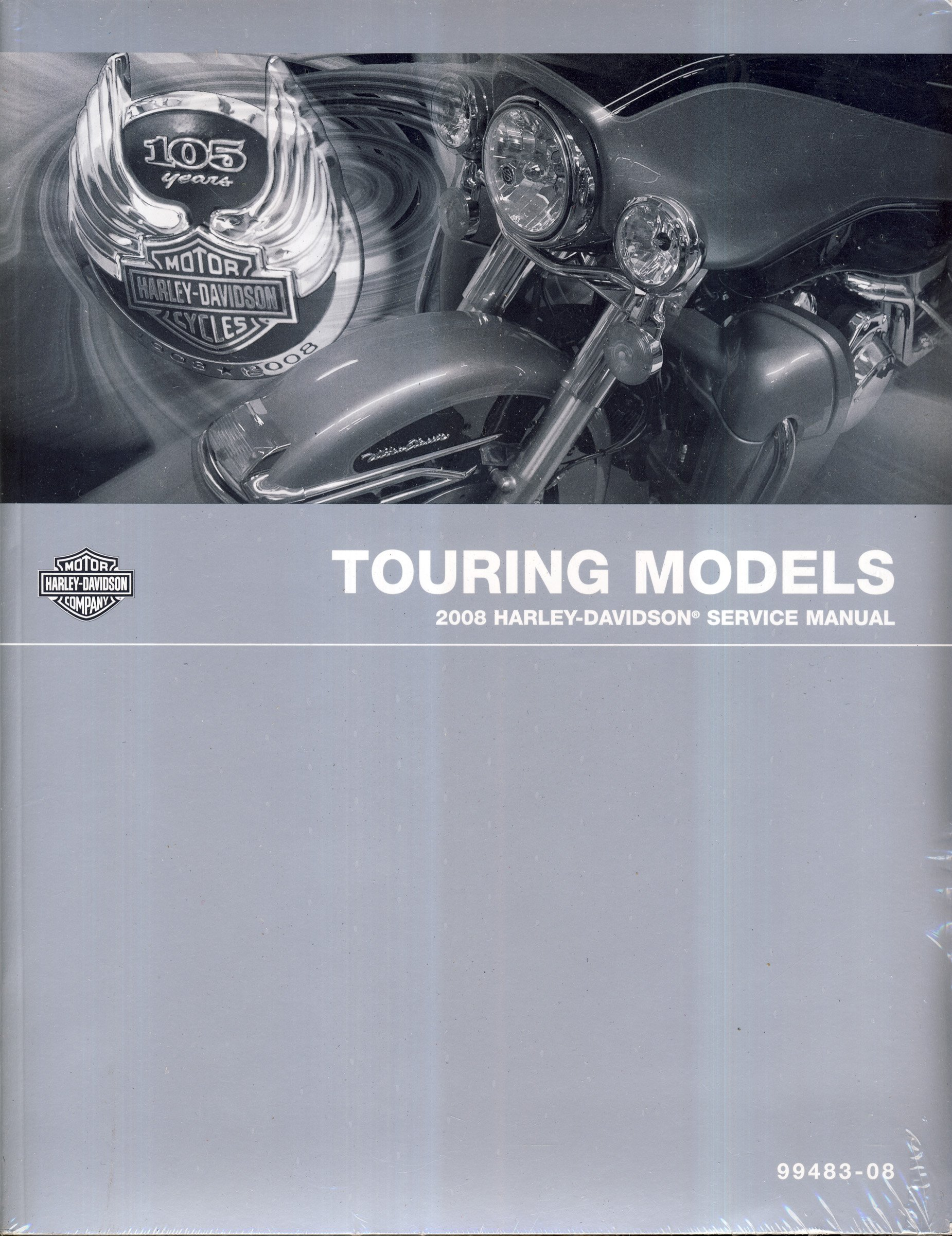 Harley Davidson 2008 Touring Models Factory Service Manual: Harley Davidson  Motor Company: Amazon.com: Books