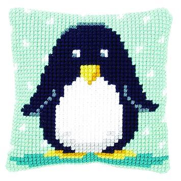 Vervaco Pn 0148454 Ver Kreuzstichkissen Baby Pinguin Amazonde