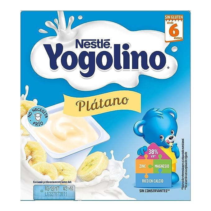 Iogolino - Plátano A Partir De 6 Meses 4 x 100 g