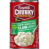 Campbell's Chunky Healthy Request Soup, New England Clam Chowder, 18.8 Ounce (Packaging May Vary)