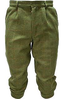 Walker and Hawkes Kids Derby Tweed Shooting Hunting Plus FOURS Breeks Trousers