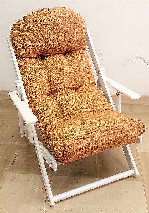 Chaise en Longue Liberoshopping Relax Bois Chaise Fauteuil 0OkPnw