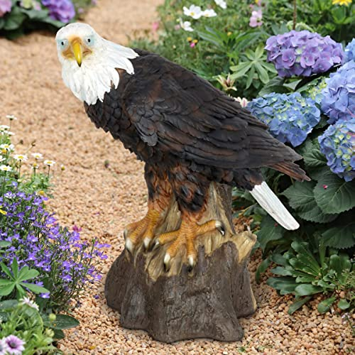 Exhart Bald Eagle Garden Statue