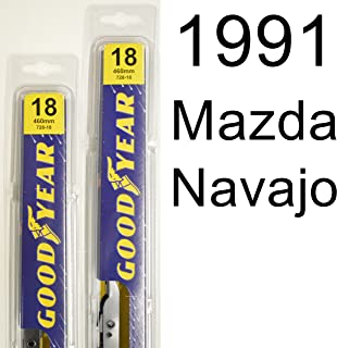 "product image for Mazda Navajo (1991) Wiper Blade Kit - Set Includes 18"" (Driver Side), 18"" (Passenger Side) (2 Blades Total)"