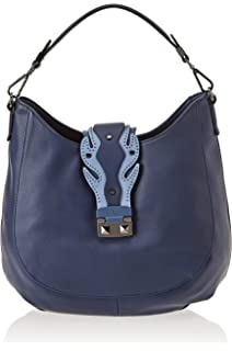 Trussardi Jeans Damen T tote High Frequency Bag, Blau (Light