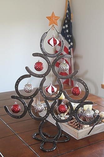 horseshoe christmas tree lucky - Horseshoe Christmas Tree