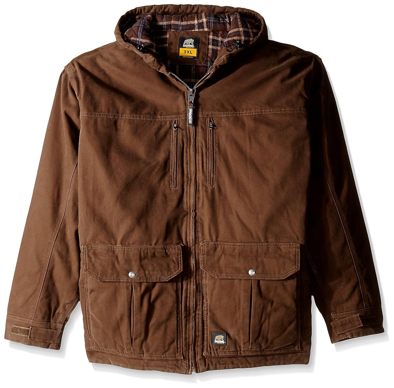 BerneメンズConcealed Carryエコー1つ1つジャケット: Big & Tall B0159UE1F0 5L|バーク バーク 5L