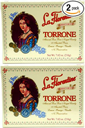 La Florentine Torrone 18 pc Assortment Box, Pack of 2