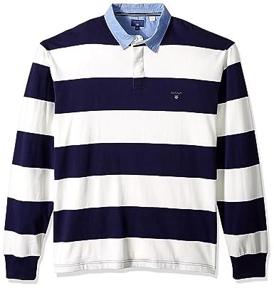 GANT Herren Sweatshirt The Original Barstripe Heavy Rugger