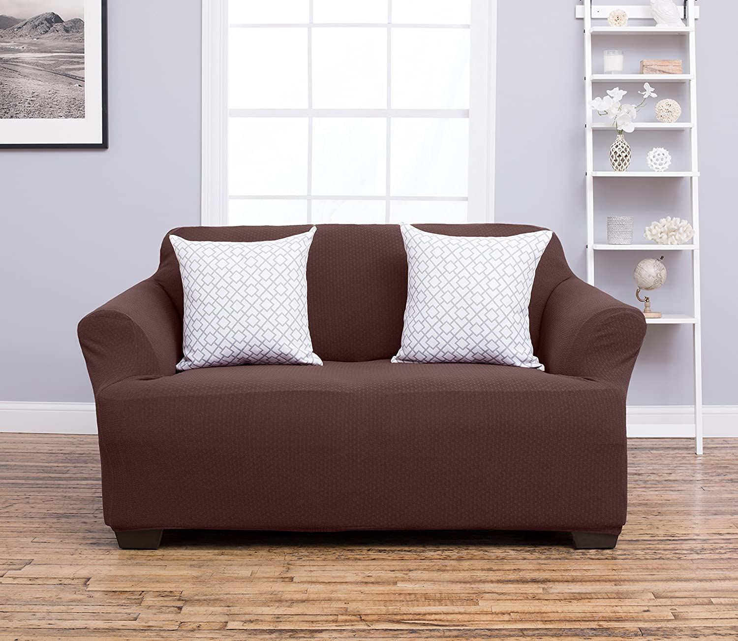 Amazon Amalio Collection Deluxe Strapless Slipcover Form Fit