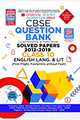 Oswaal CBSE Question Bank Class 10 English Language & Literature Chapterwise & Topicwise (For March 2020 Exam) Kindle Edition